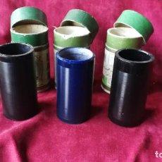 Phonographes et magnétophones à lampes: CILINDROS EDISON DE 4 MINUTOS,PARA FONOGRAFO 3 UNIDADES, MUY BUEN ESTADO. Lote 206349043