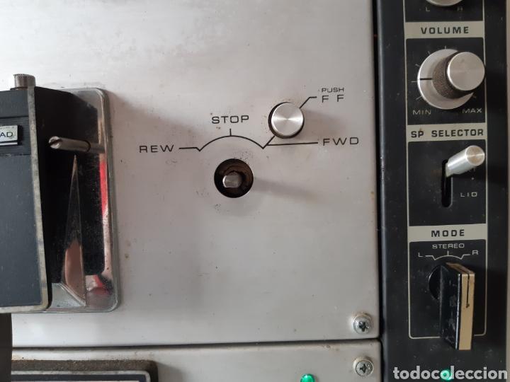 Fonógrafos y grabadoras de válvulas: Magnetofono Sony TC-630 para cintas de audio carrete a carrete bovina abierta reel to reel - Foto 4 - 210818079