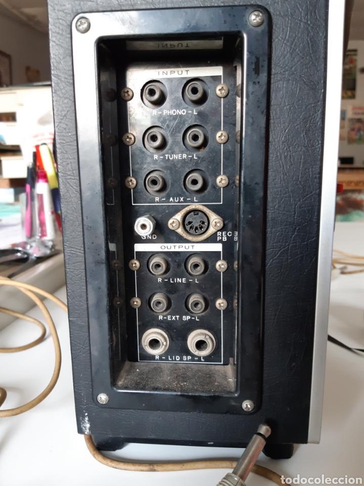 Fonógrafos y grabadoras de válvulas: Magnetofono Sony TC-630 para cintas de audio carrete a carrete bovina abierta reel to reel - Foto 7 - 210818079