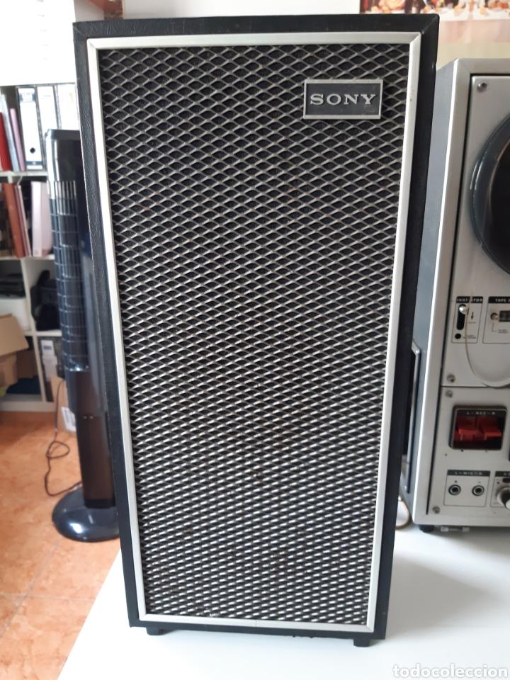 Fonógrafos y grabadoras de válvulas: Magnetofono Sony TC-630 para cintas de audio carrete a carrete bovina abierta reel to reel - Foto 10 - 210818079