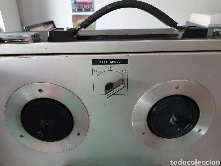 Fonógrafos y grabadoras de válvulas: Magnetofono Sony TC-630 para cintas de audio carrete a carrete bovina abierta reel to reel - Foto 15 - 210818079