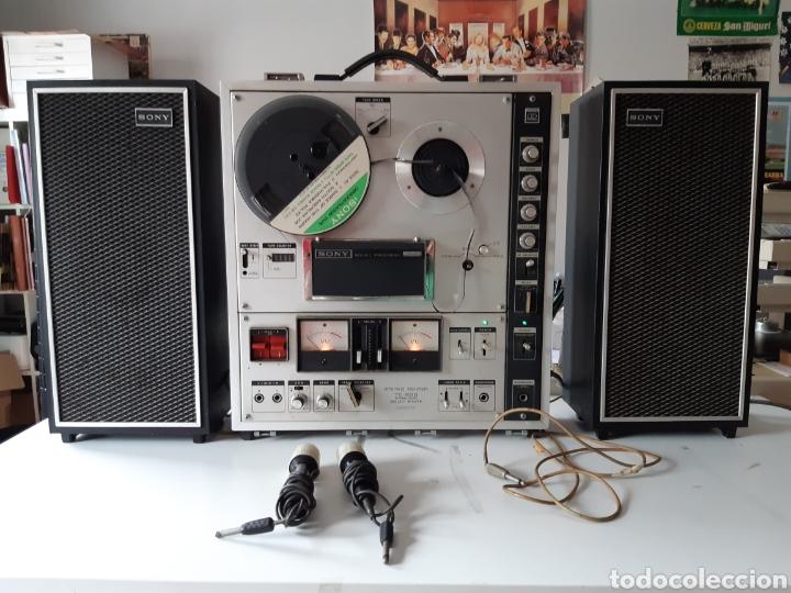 MAGNETOFONO SONY TC-630 PARA CINTAS DE AUDIO CARRETE A CARRETE BOVINA ABIERTA REEL TO REEL (Radios, Gramófonos, Grabadoras y Otros - Fonógrafos y Grabadoras de Válvulas)