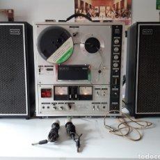 Fonógrafos y grabadoras de válvulas: MAGNETOFONO SONY TC-630 PARA CINTAS DE AUDIO CARRETE A CARRETE BOVINA ABIERTA REEL TO REEL. Lote 210818079