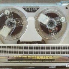 Fonógrafos y grabadoras de válvulas: MAGNETOFONO - GRABADOR GELOSO MOD. G257. CON CABLE DE CORRIENTE-FUNCIONA. Lote 213590170