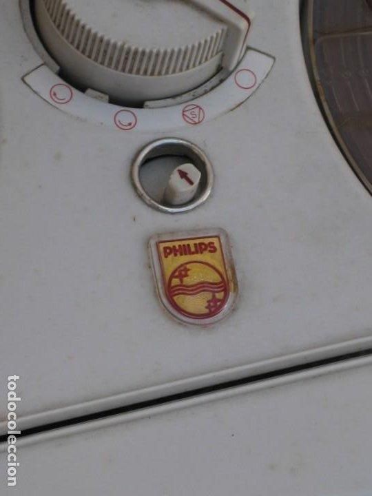 Fonógrafos y grabadoras de válvulas: Antiguo magnetofono Philips. Años 50. No funciona. - Foto 6 - 214495028