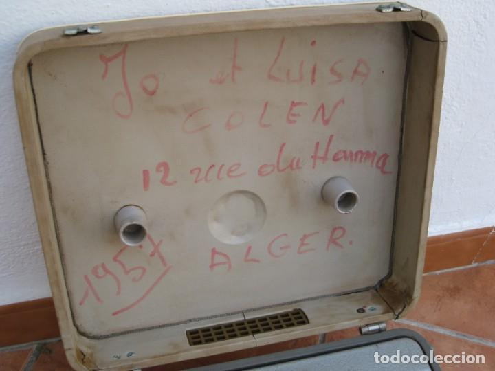 Fonógrafos y grabadoras de válvulas: Antiguo magnetofono Philips. Años 50. No funciona. - Foto 13 - 214495028