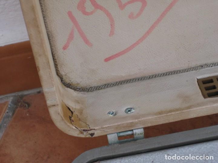 Fonógrafos y grabadoras de válvulas: Antiguo magnetofono Philips. Años 50. No funciona. - Foto 16 - 214495028