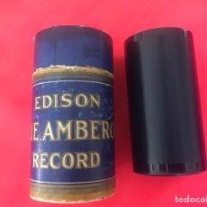 Fonógrafos y grabadoras de válvulas: CILINDRO EDISON 4 MINUTOS (1543)-. Lote 215909410