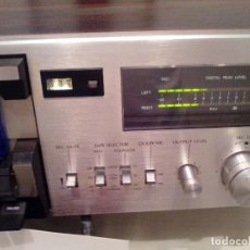 Fonógrafos y grabadoras de válvulas: CASETTE RECORD/PLAY SANSUI SC 1300. Lote 221440070