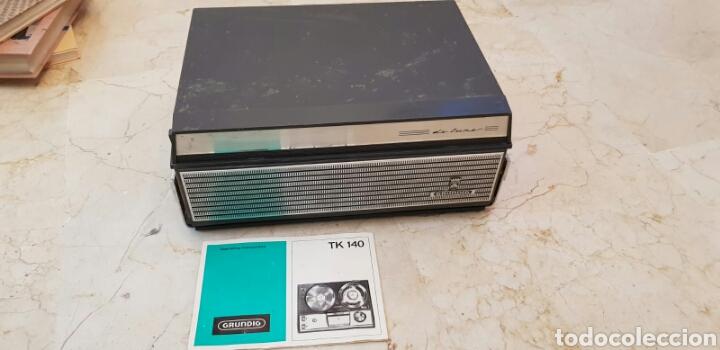 MAGNETÓFONO O GRABADOR DE VÁLVULAS GRUNDIG TK40 (Radios, Gramófonos, Grabadoras y Otros - Fonógrafos y Grabadoras de Válvulas)
