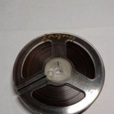 Fonógrafos y grabadoras de válvulas: BOBINA CINTA MAGNETOFÓNICA - EN SOPORTE DE 80 M/M. - PARA GRABAR. Lote 224149606