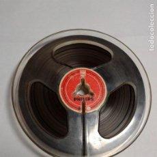 Fonografi e magnetofoni a valvole: BOBINA CINTA MAGNETOFÓNICA - EN SOPORTE DE 100 M/M. - PARA GRABAR. Lote 224150436