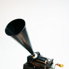Fonógrafos y grabadoras de válvulas: ESPECTACULAR FONÓGRAFO THOMAS A. ÉDISON. U.S.A. 1905. Nº SERIE 271887. FUNCIONANDO.. Lote 225325540