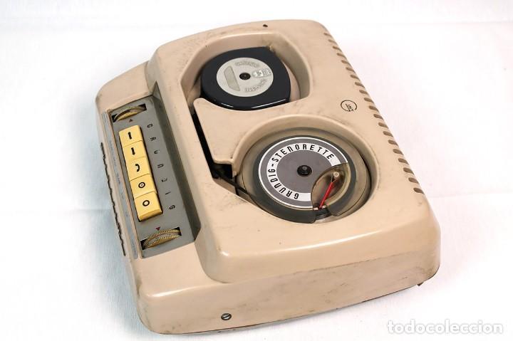 Fonógrafos y grabadoras de válvulas: ANTIGUA GRABADORA/DICTAFONO GRUNDIG. - Foto 3 - 226354225