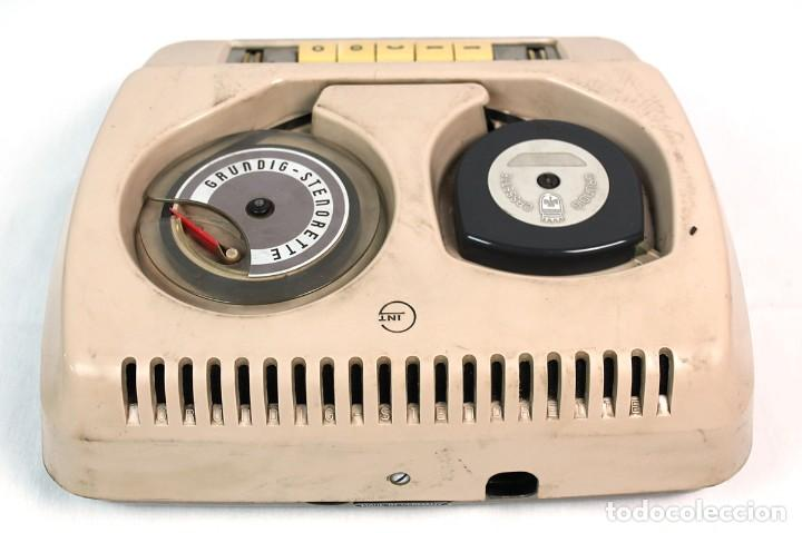 Fonógrafos y grabadoras de válvulas: ANTIGUA GRABADORA/DICTAFONO GRUNDIG. - Foto 4 - 226354225