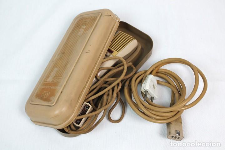 Fonógrafos y grabadoras de válvulas: ANTIGUA GRABADORA/DICTAFONO GRUNDIG. - Foto 5 - 226354225