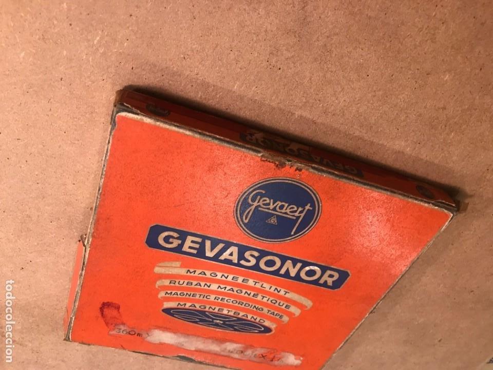 Fonógrafos y grabadoras de válvulas: Gevasonor 360 Metros Cinta virgen para magnetofón - Foto 4 - 228190570