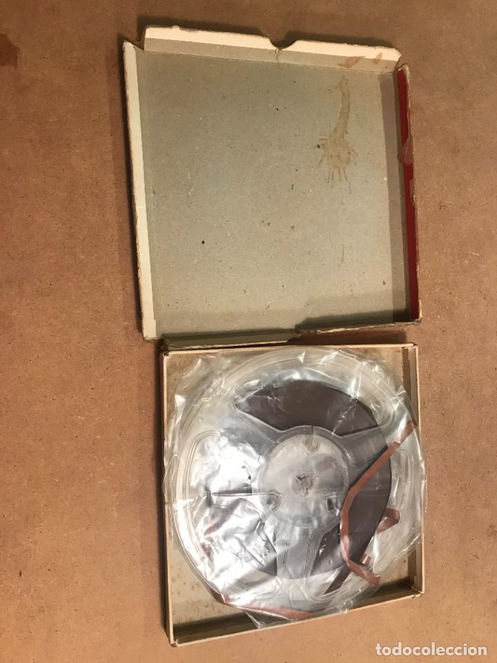 Fonógrafos y grabadoras de válvulas: Gevasonor 360 Metros Cinta virgen para magnetofón - Foto 5 - 228190570