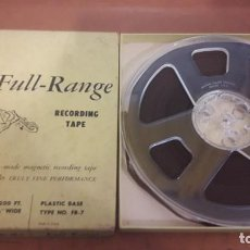 Fonografi e magnetofoni a valvole: CINTA PARA MAGNETOFONO FULL-RANGE. 1200 FT. SIN ESCUCHAR. USA.. Lote 230587355