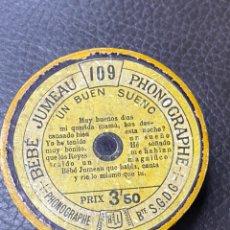 Fonógrafos y grabadoras de válvulas: CILINDRO FONOGRAFO LIORET MUÑECA JUMEAU. Lote 231280385