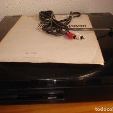 Fonógrafos y grabadoras de válvulas: TOCADISCOS SONY PS-725 DE 1990. Lote 232142690