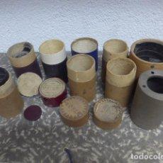 Fonografi e magnetofoni a valvole: GRAN LOTE DE CILINDROS DE FONOGRAFO (ROTOS) DE MUSICA Y MUCHAS CAJAS, ORIGINALES.. Lote 235846645