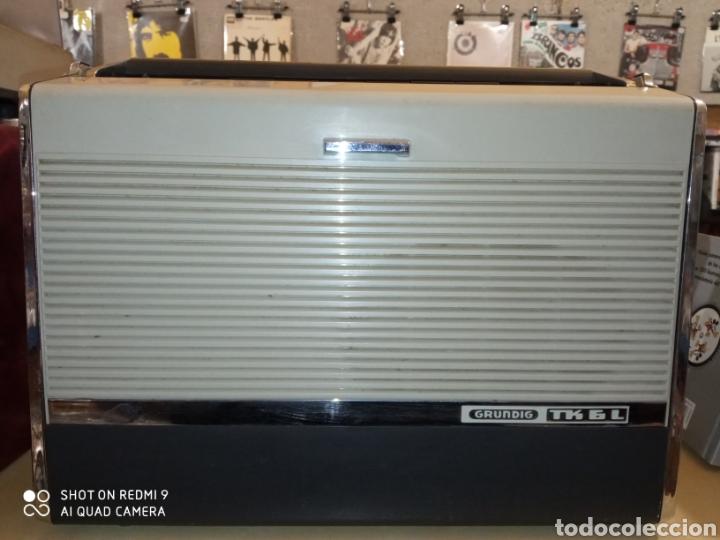 Fonógrafos y grabadoras de válvulas: Magnetófono portátil marca Grundig de los años 60 TK 6L Como nuevo !! - Foto 8 - 175165915