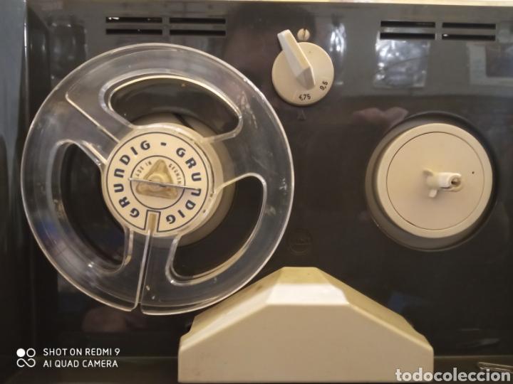 Fonógrafos y grabadoras de válvulas: Magnetófono portátil marca Grundig de los años 60 TK 6L Como nuevo !! - Foto 9 - 175165915