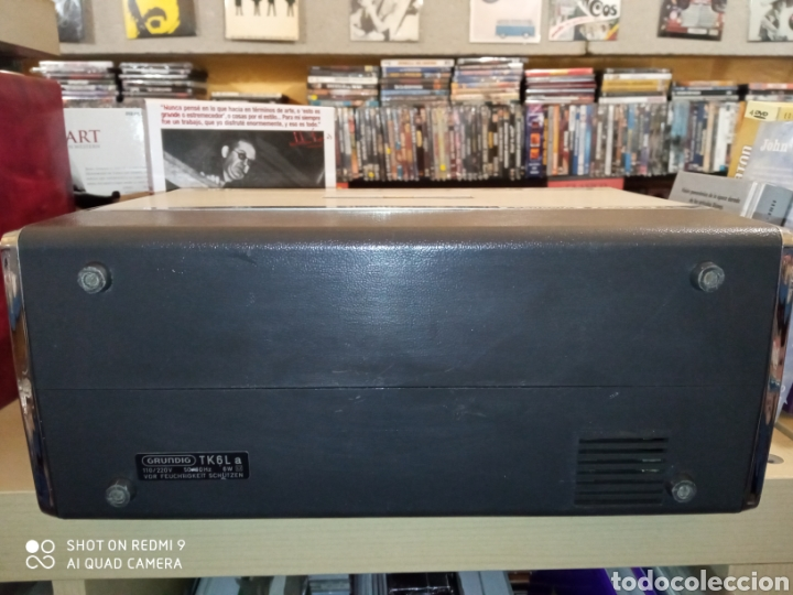 Fonógrafos y grabadoras de válvulas: Magnetófono portátil marca Grundig de los años 60 TK 6L Como nuevo !! - Foto 11 - 175165915