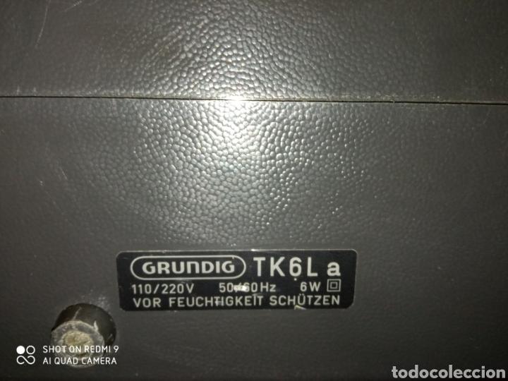 Fonógrafos y grabadoras de válvulas: Magnetófono portátil marca Grundig de los años 60 TK 6L Como nuevo !! - Foto 12 - 175165915