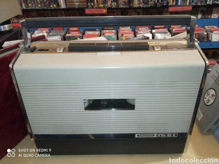 Fonógrafos y grabadoras de válvulas: Magnetófono portátil marca Grundig de los años 60 TK 6L Como nuevo !! - Foto 15 - 175165915