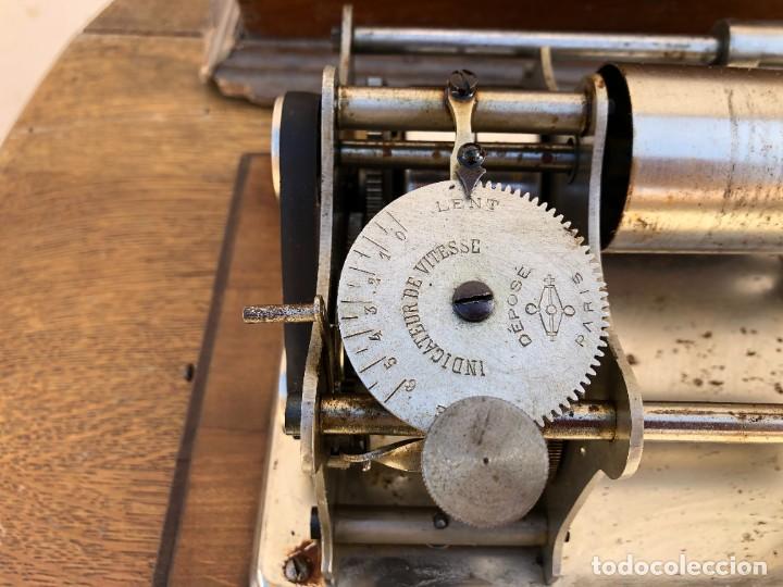 Fonógrafos y grabadoras de válvulas: FONOGRAFO FRANCES - Foto 4 - 238438060