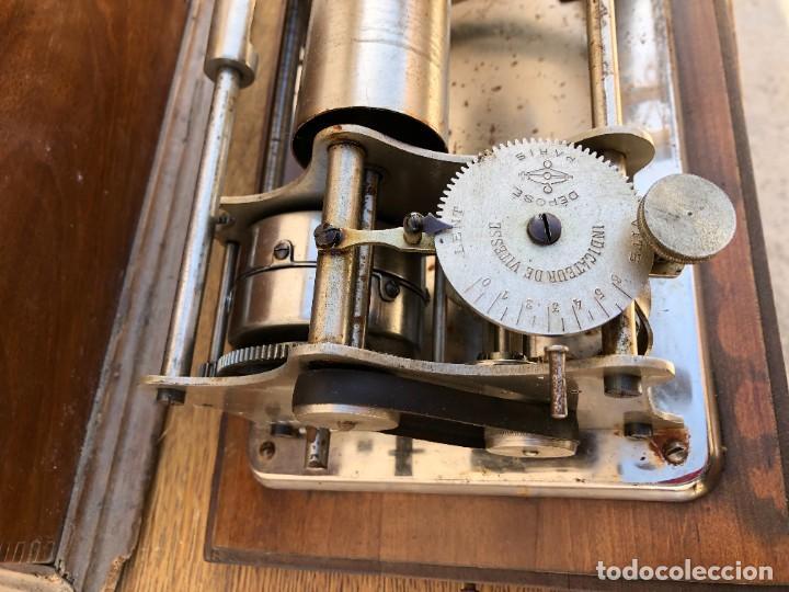 Fonógrafos y grabadoras de válvulas: FONOGRAFO FRANCES - Foto 5 - 238438060