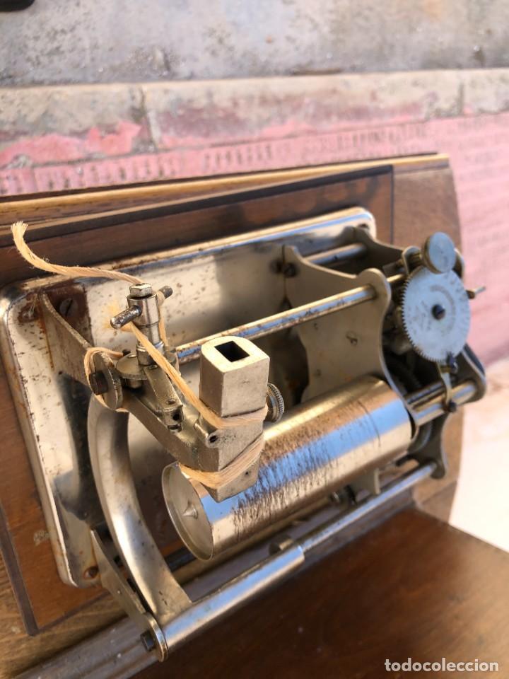 Fonógrafos y grabadoras de válvulas: FONOGRAFO FRANCES - Foto 6 - 238438060