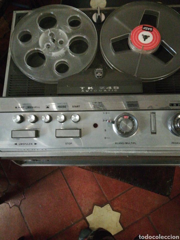 MAGNETOFON GRUNDIG AUTOMATIC DELUXE (Radios, Gramófonos, Grabadoras y Otros - Fonógrafos y Grabadoras de Válvulas)