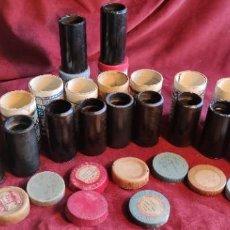 Fonógrafos y grabadoras de válvulas: CILINDROS PARA FONOGRAFO 12 UNIDADES. Lote 243548545