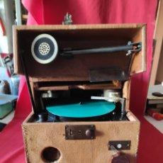 Fonografi e magnetofoni a valvole: ANTIGUO GRABADOR REPRODUCTOR DE DISCOS SOUNDSCRIBER. Lote 247734210