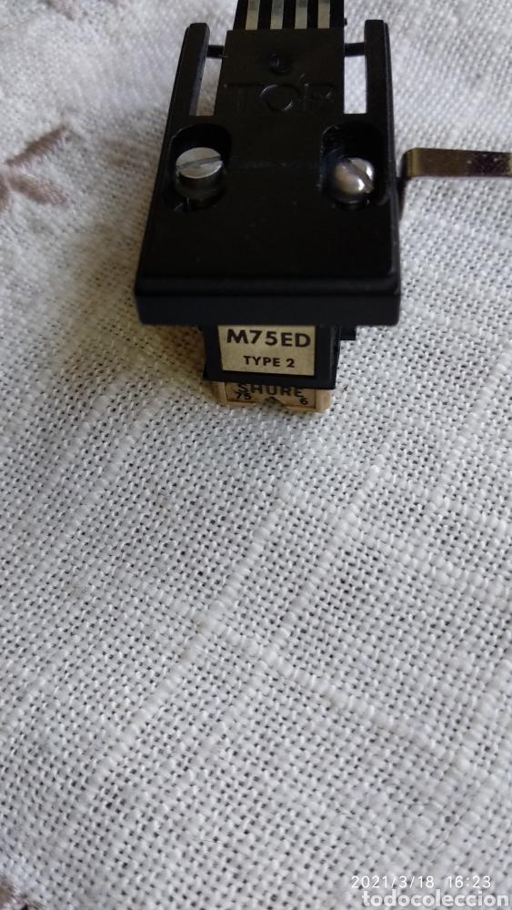 Fonógrafos y grabadoras de válvulas: Cápsula+aguja shure m75 ed type2 - Foto 2 - 248743990