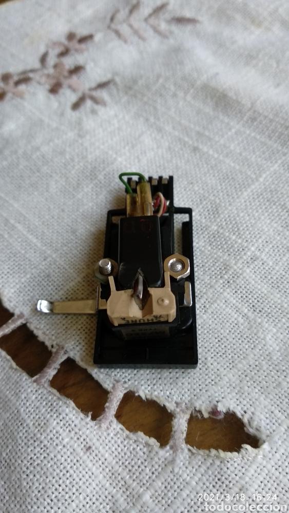 Fonógrafos y grabadoras de válvulas: Cápsula+aguja shure m75 ed type2 - Foto 3 - 248743990
