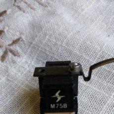Fonógrafos y grabadoras de válvulas: CÁPSULA+AGUJA SHURE M75B. Lote 248744260
