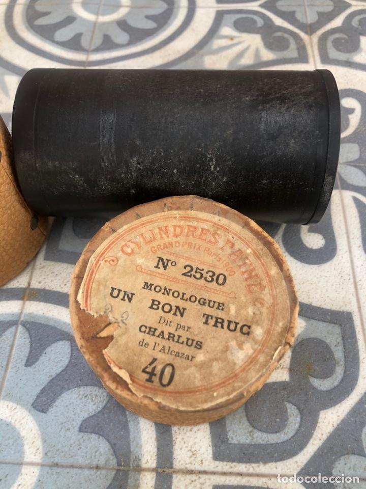 Fonógrafos y grabadoras de válvulas: Lote de 12 cilindros pathe fonografo . Más poniendo USMO - Foto 6 - 252325820