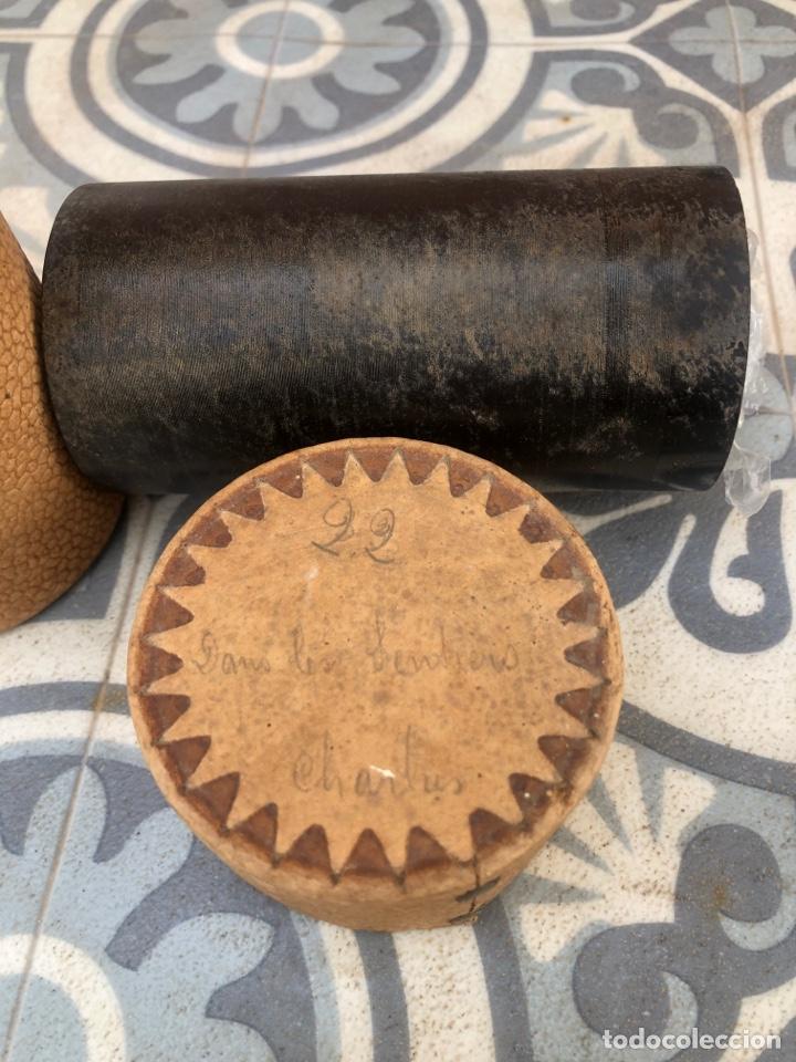 Fonógrafos y grabadoras de válvulas: Lote de 12 cilindros pathe fonografo . Más poniendo USMO - Foto 7 - 252325820