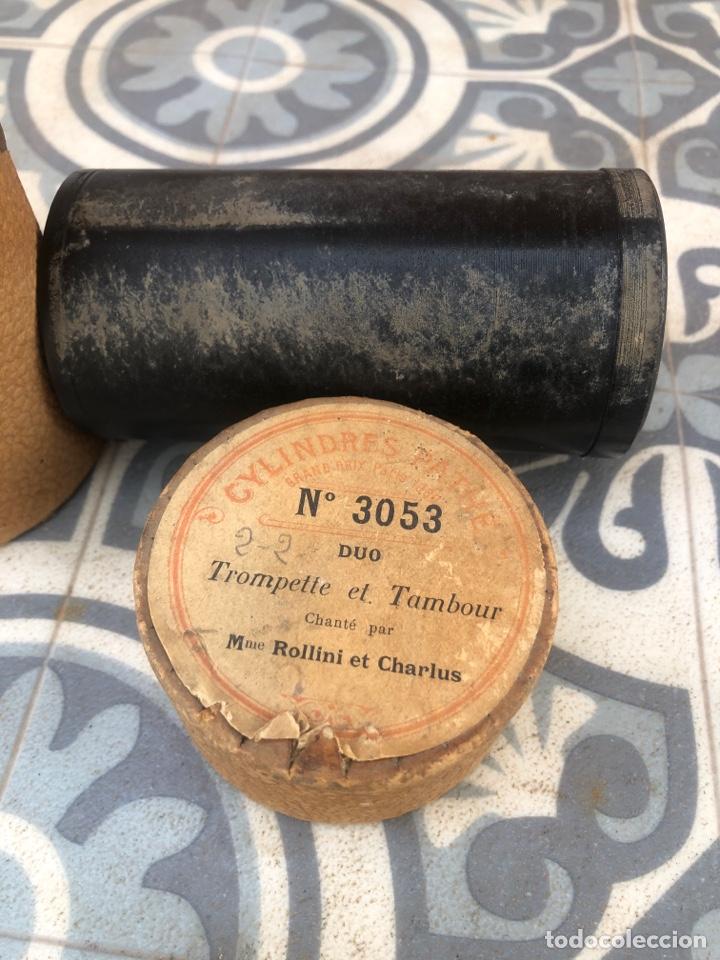 Fonógrafos y grabadoras de válvulas: Lote de 12 cilindros pathe fonografo . Más poniendo USMO - Foto 10 - 252325820