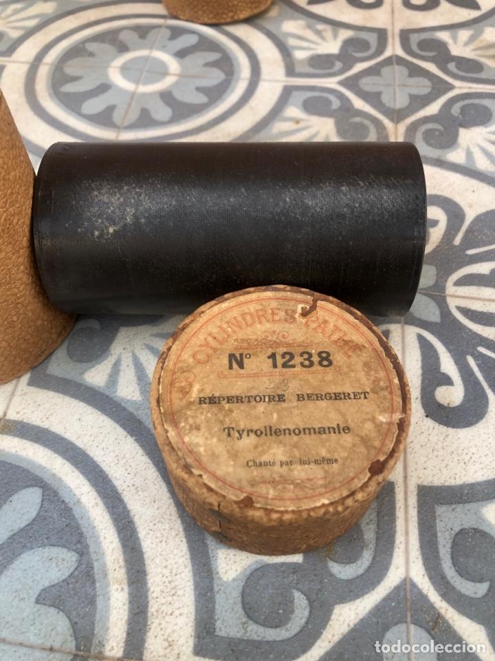 Fonógrafos y grabadoras de válvulas: Lote de 12 cilindros pathe fonografo . Más poniendo USMO - Foto 13 - 252325820