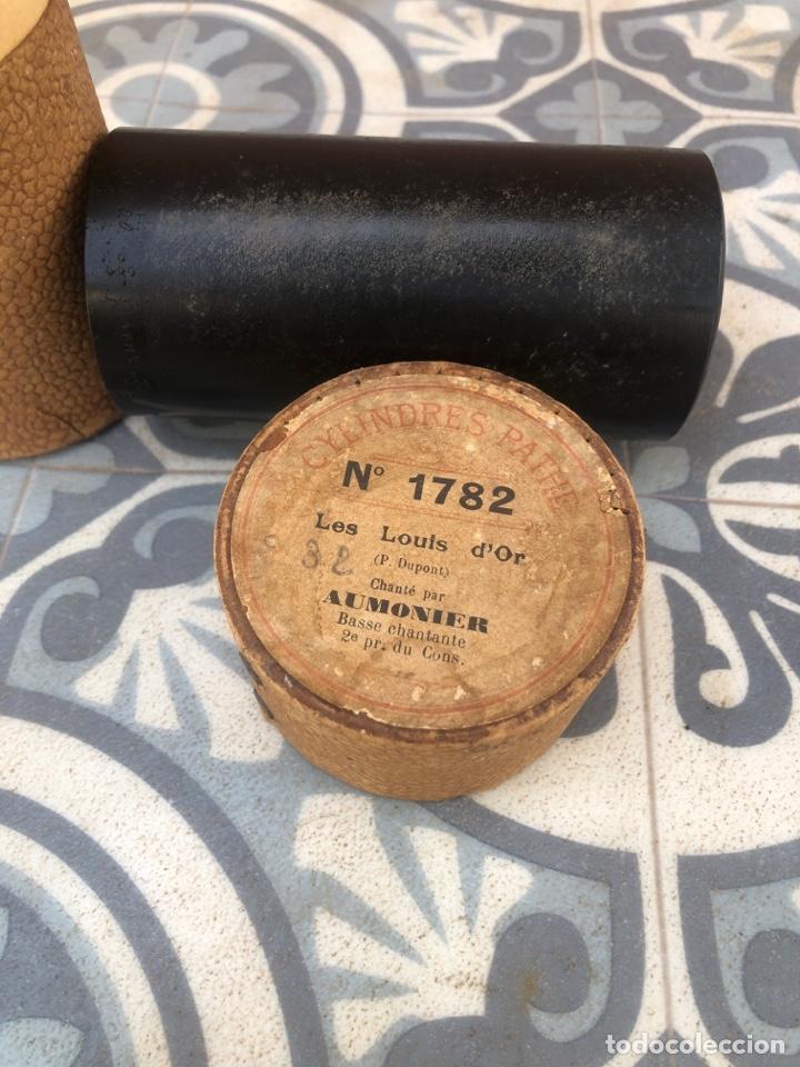 Fonógrafos y grabadoras de válvulas: Lote de 12 cilindros pathe fonografo . Más poniendo USMO - Foto 14 - 252325820