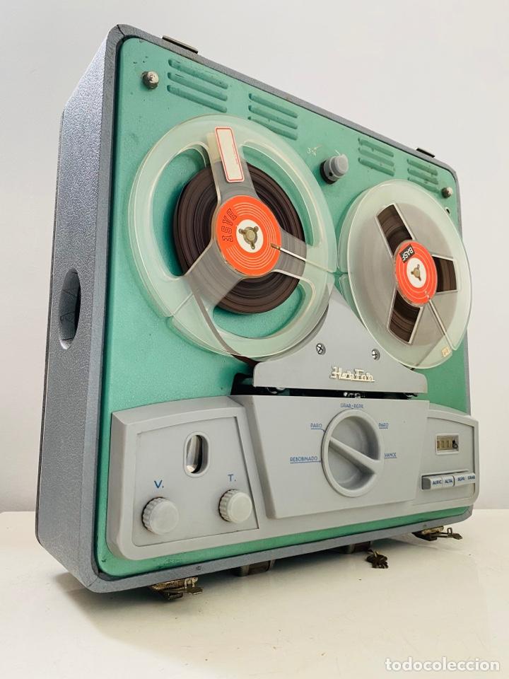 Fonógrafos y grabadoras de válvulas: Her Fan Reel to Reel Válvulas - Foto 2 - 253124655