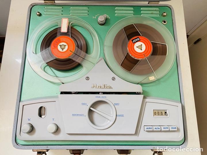 Fonógrafos y grabadoras de válvulas: Her Fan Reel to Reel Válvulas - Foto 9 - 253124655