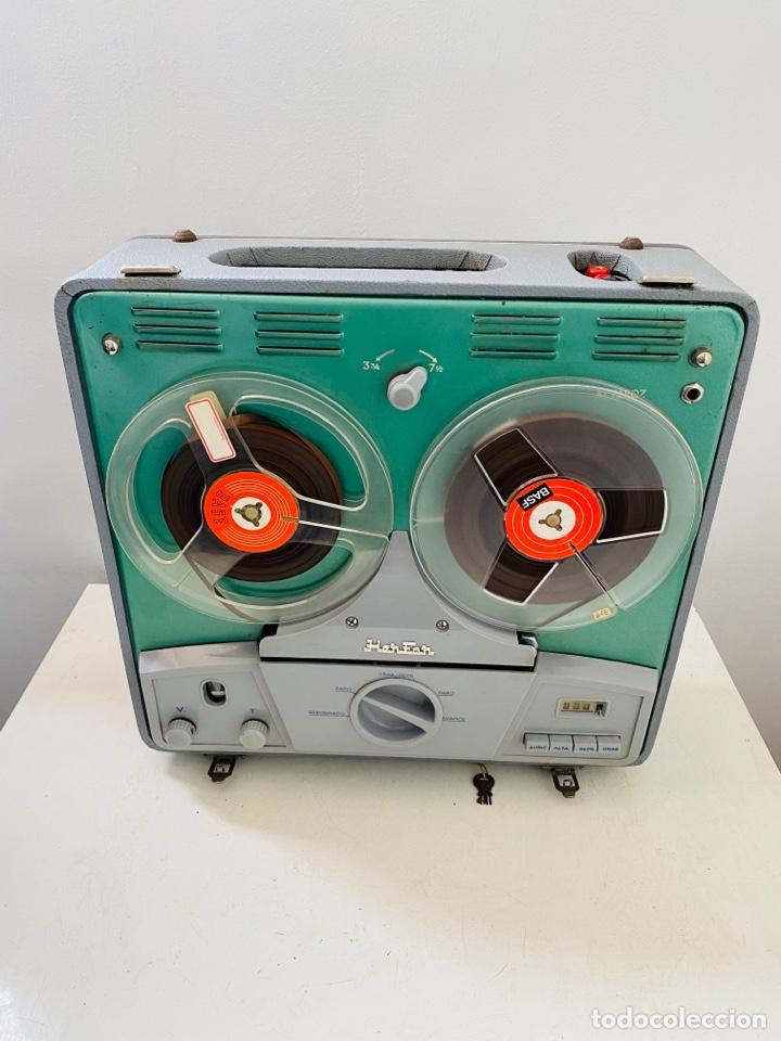 Fonógrafos y grabadoras de válvulas: Her Fan Reel to Reel Válvulas - Foto 11 - 253124655