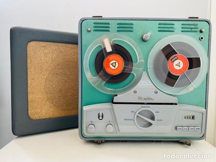 Fonógrafos y grabadoras de válvulas: Her Fan Reel to Reel Válvulas - Foto 19 - 253124655
