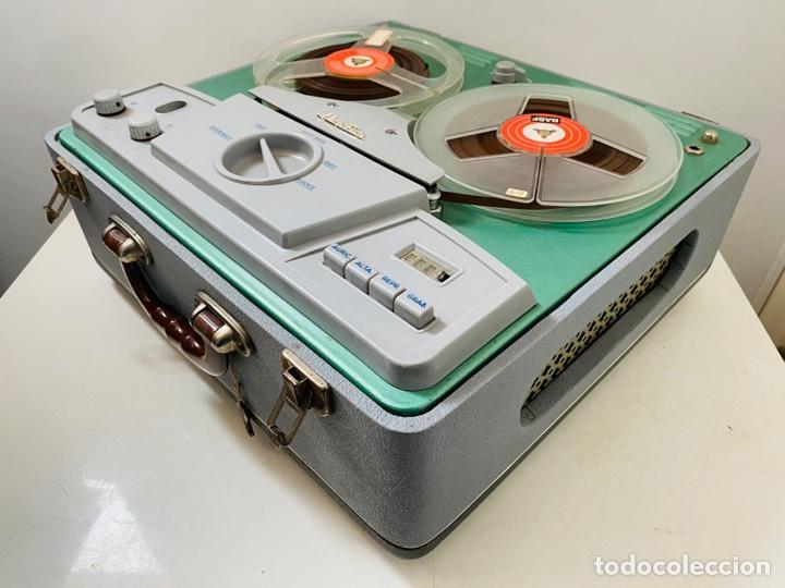 Fonógrafos y grabadoras de válvulas: Her Fan Reel to Reel Válvulas - Foto 23 - 253124655